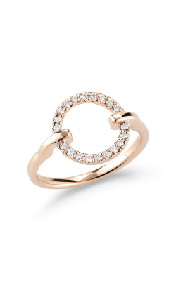 Barbela Design Diamond Lock Fashion Ring BR1028-P product image