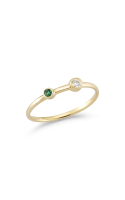 Barbela Design Emerald And Diamond Duo Fashion Ring BR1072-Y product image