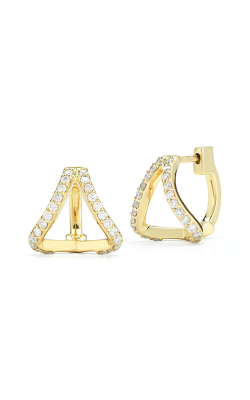 Barbela Design Diamond Lexy Huggies Earrings BE1023-Y product image