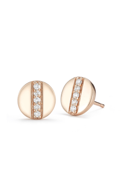 Barbela Design Diamond Token Earrings BE1033-P product image