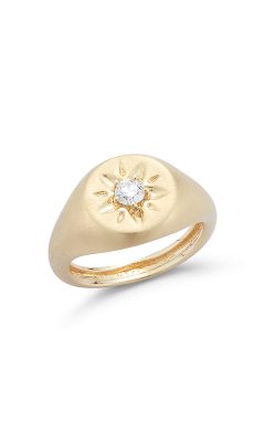 Barbela Design Diamond Skylar Pinky Fashion Ring BR1179-Y product image