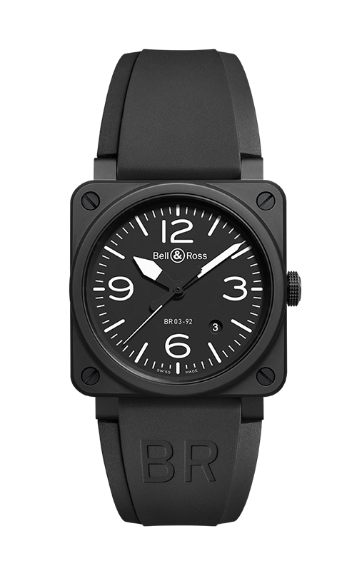 Bell & Ross BR 03-92 Watch BR 03-92 Black Matte product image