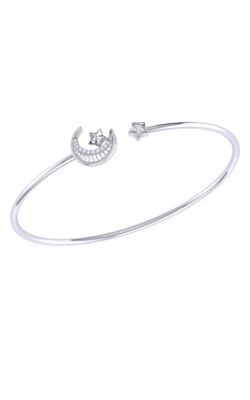 LUVMYJEWELRY Star-kissed Crescent Cuff product image