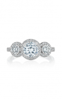 Benari Signature Collection Engagement Ring Z1078RR6.5W4 product image