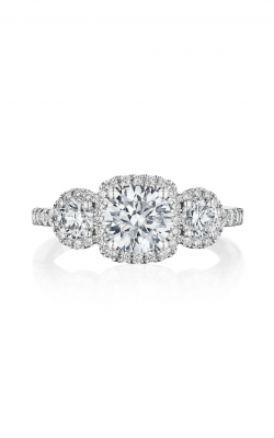 Benari Signature Collection Engagement Ring Z1307CR6.5W4 product image