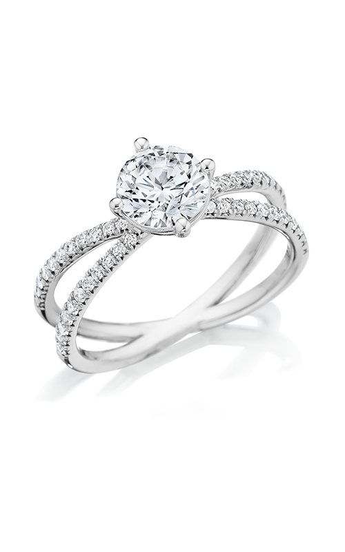 Benari Signature Collection Engagement ring Z1426R6.5W4 product image