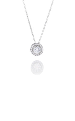 1/4CT WG Diamond Halo Pendant product image