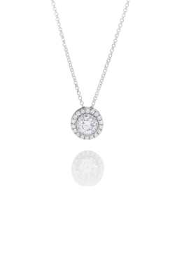 1/3CT WG Diamond Halo Pendant product image