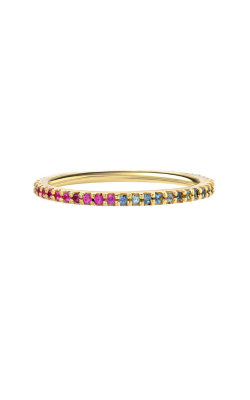 Benari Signature Collection Fashion Ring Rainbow Eternity Band product image