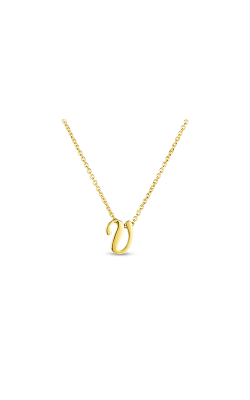 Roberto Coin Initial V Pendant 000021AYCH0V product image