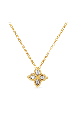 Roberto Coin Princess Flower Necklace 7771370AJCHX product image