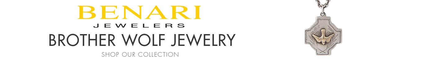 Brother Wolf Jewelry at BENARI JEWELERS