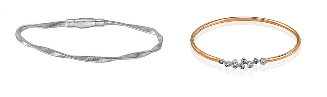Marco Bicego and Simon G Bangles
