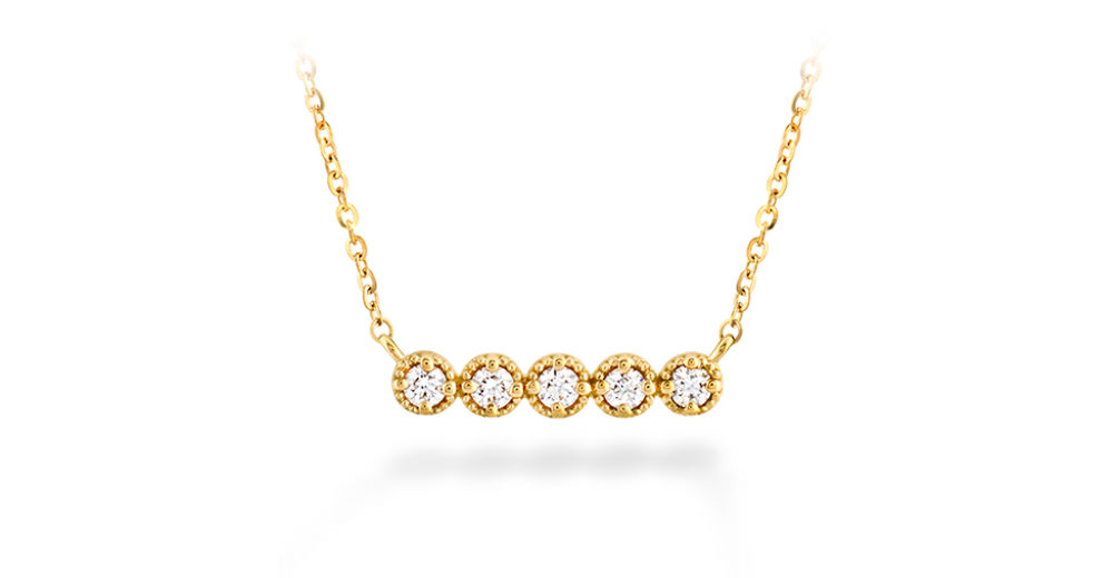 Hearts on Fire Gold Diamond Necklace