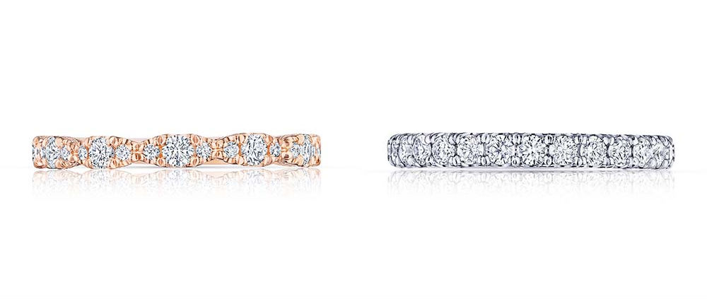 STACKABLE WEDDING RINGS by Tacori