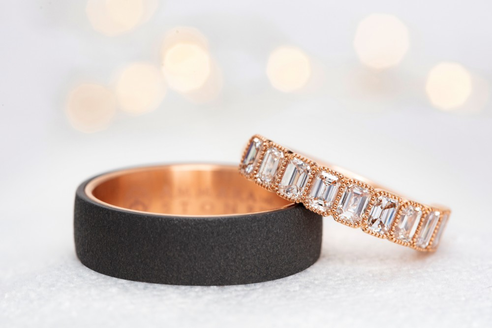 Alternative Men's Wedding Bands: Cool for the Contemporary Groom