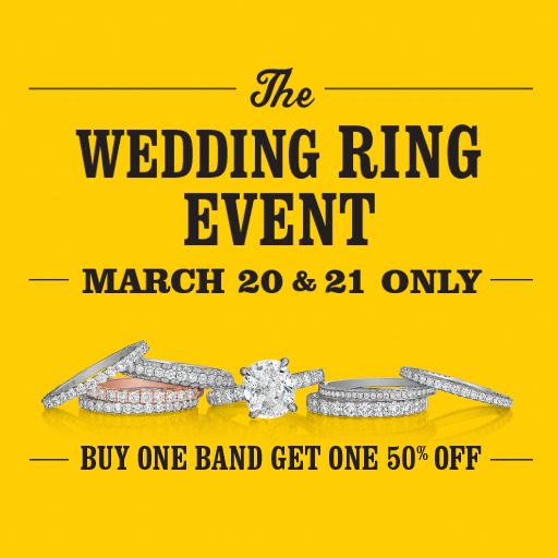 JOIN US FOR OUR ANNUAL WEDDING BAND SPECTACULAR! THIS EVENT IS NOW CLOSED.
