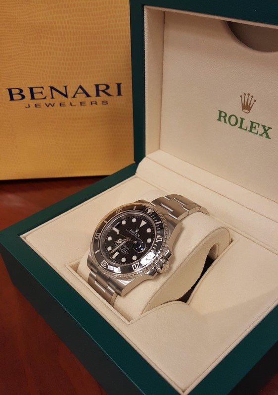 Rolex watch from BENARI