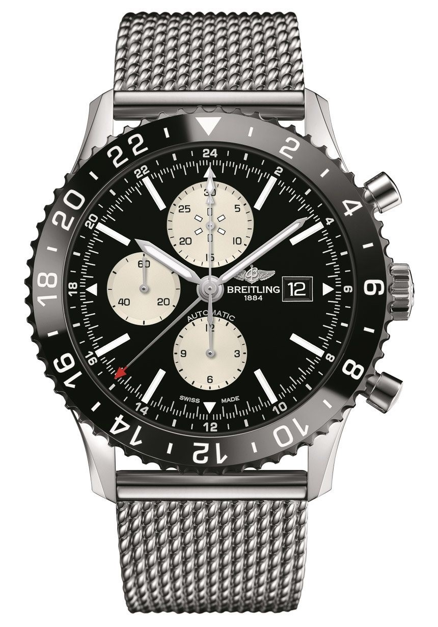 Breitling Chronoliner available at BENARI JEWELERS