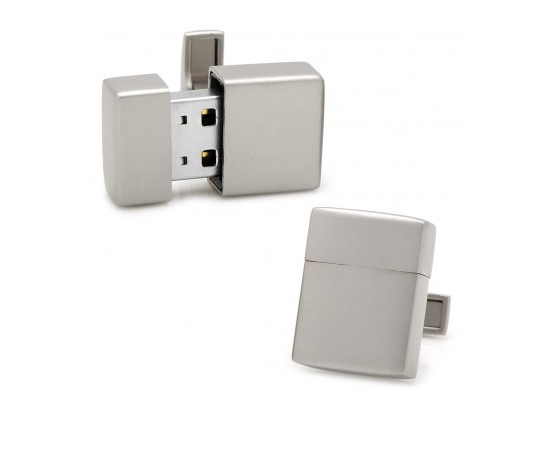 USB Cufflinks available to order at BENARI JEWELERS