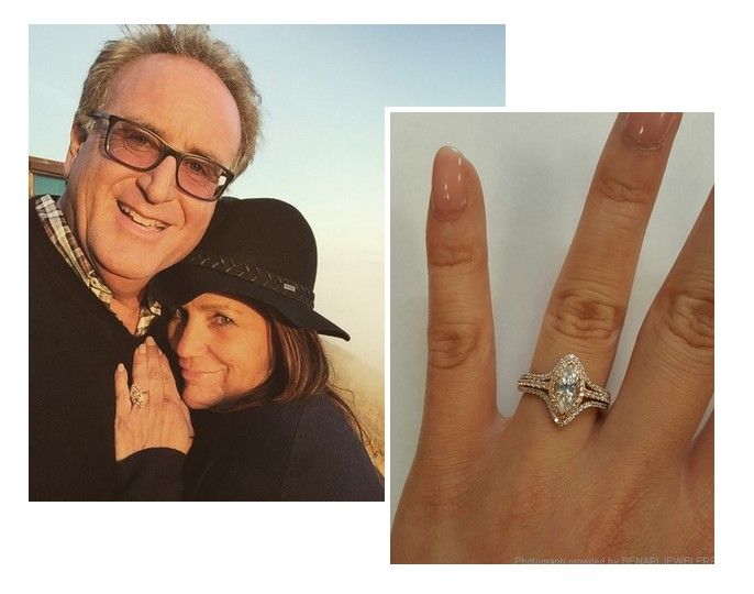 Tina Simpson inspired engagement ring