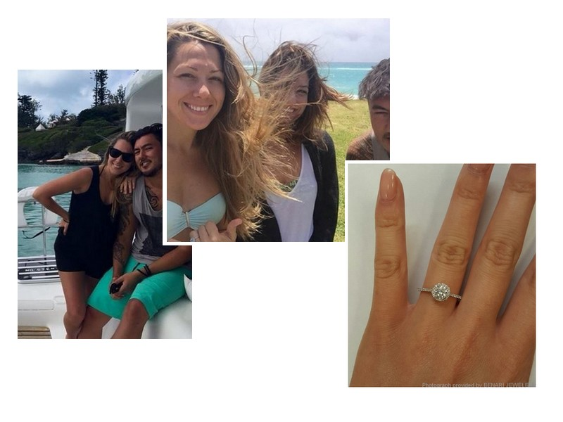 Colbie Caillat inspired engagement ring