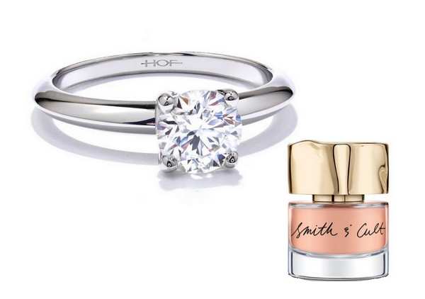 BEST NAIL POLISH COLORS TO MATCH YOUR ENGAGEMENT RING