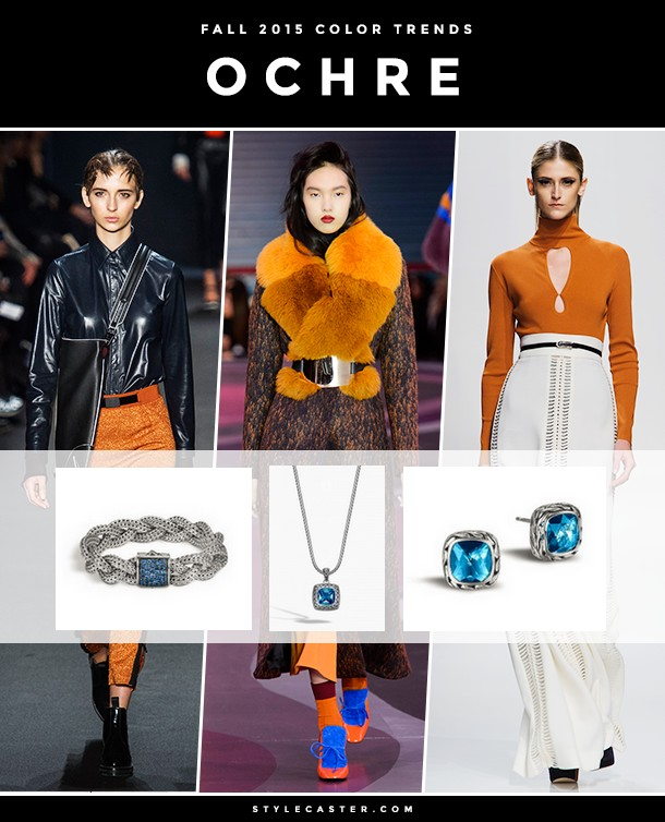 8 BIGGEST COLOR TRENDS FOR FALL 2015