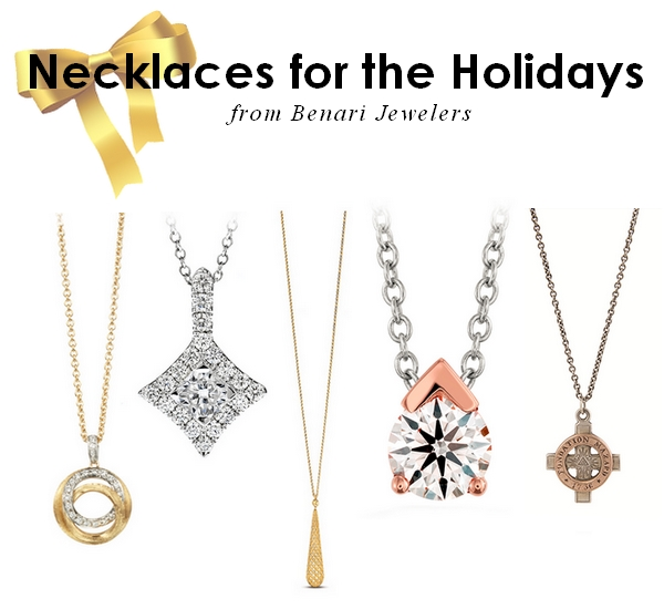 Holiday Outfit Acessories - Necklaces available at BENARI JEWELERS