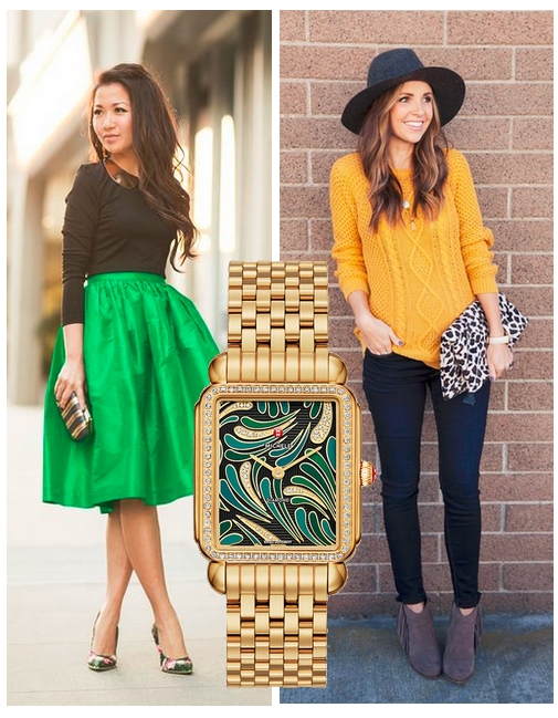 MICHELE Watches: Any Time, Any Outfit