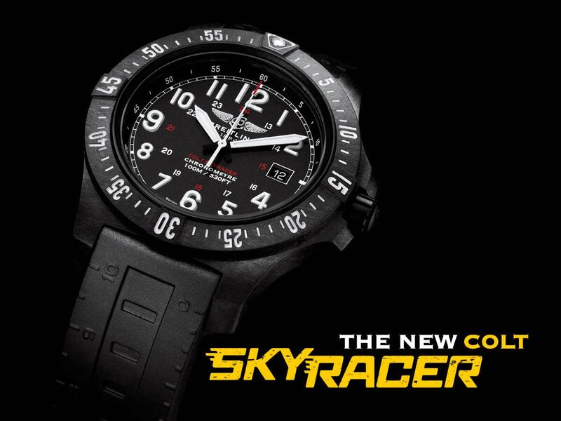 The New Colt Skyracer from Breitling