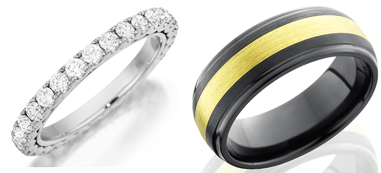 Henri Daussi Wedding Bands from BENARI Jewelers
