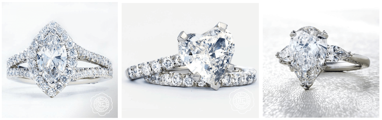 Diamond Engagement rings from Tacori