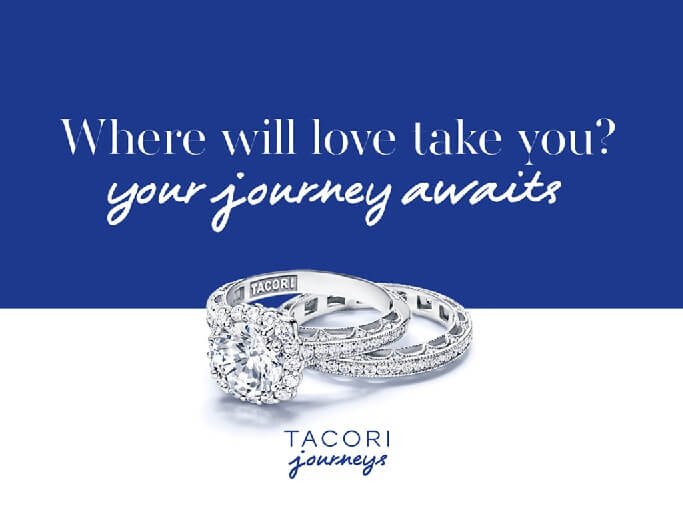 Tacori Journeys Travel Voucher Deal at BENARI JEWELERS Today!